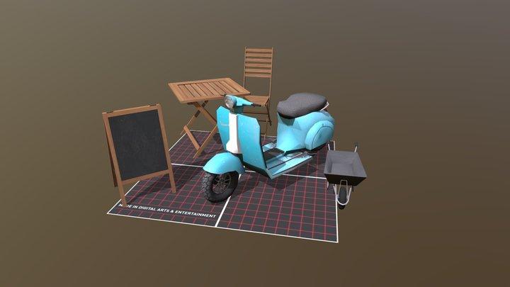 QWeek Assignment 3D Model