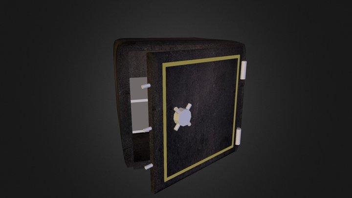 Open Safe 3D Model