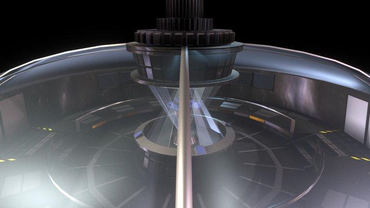 Space Station Bridge 3D Model