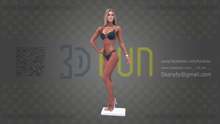 1100 Scan 195 3D Model