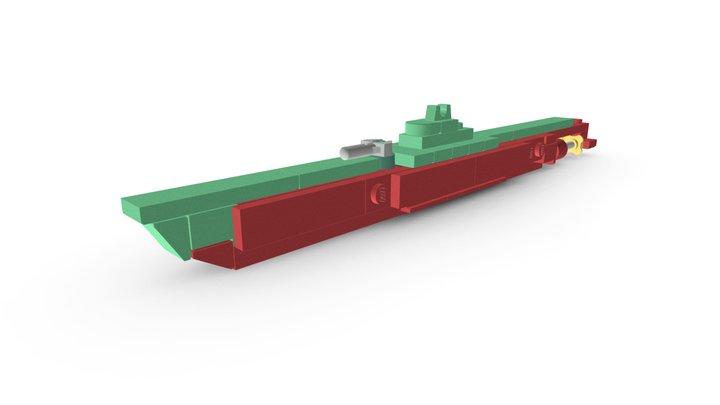 LEGO® Casabianca (Q183) Submarine MOC 3D Model
