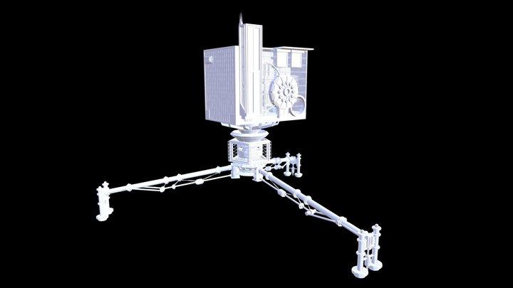 [24-06-16] - Philae Landing 3D Model