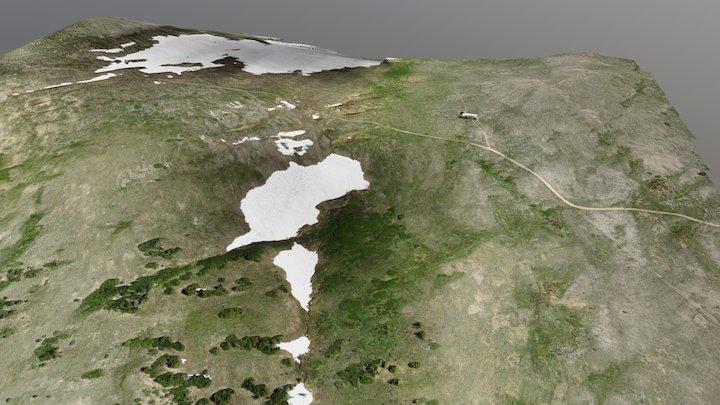 Niwot Ridge Saddle 20170705 Test Model 2 3D Model