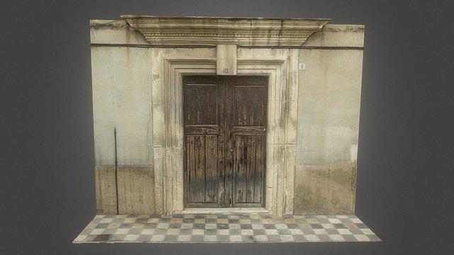 Porta de la casa-palau dels Ferriz (s. XVIII) 3D Model