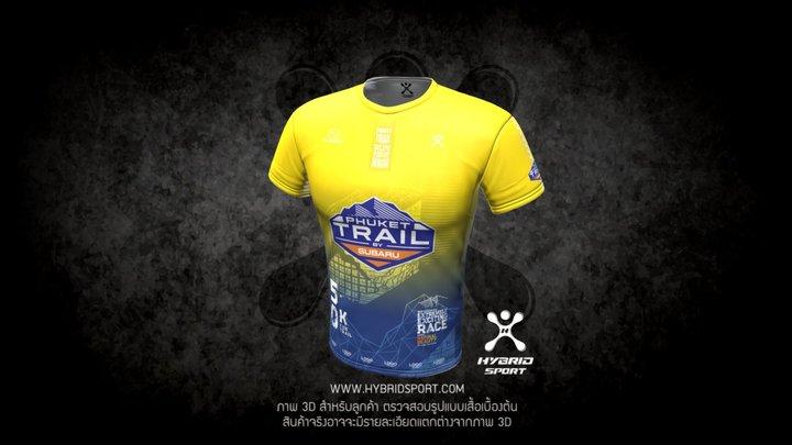 Phuket Trail - Yellow 3D Model