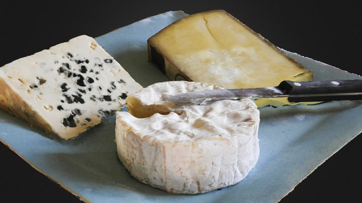 French cheese : Un Peu De Fromage ? 3D Model