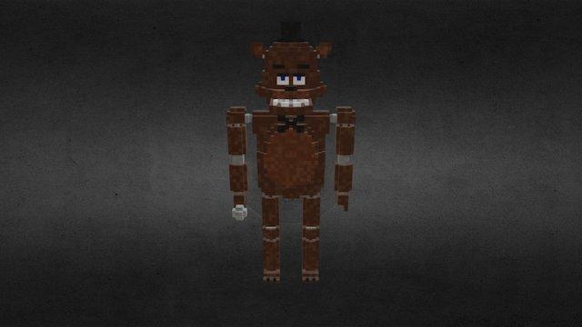 Qubicle Freddy Fazbear 3D Model