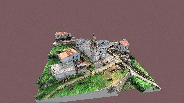 San Andrés de Teixido 3D Model
