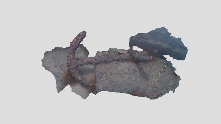 Port Noarlunga Reef Anchor 3D Model
