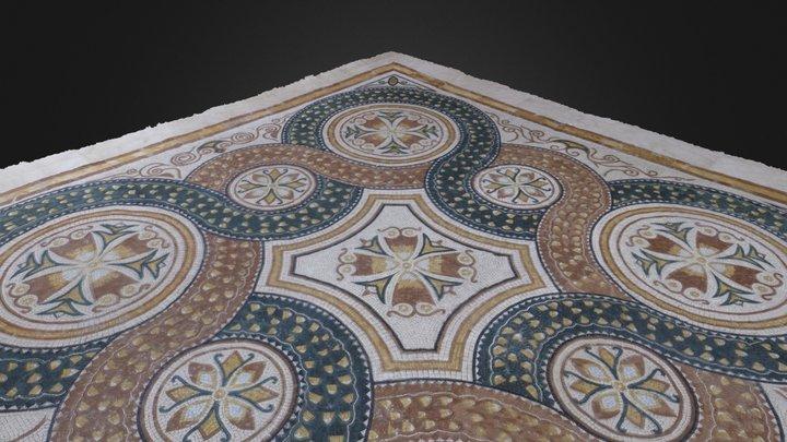 Mosaico del centro de visitantes de Begastri 3D Model