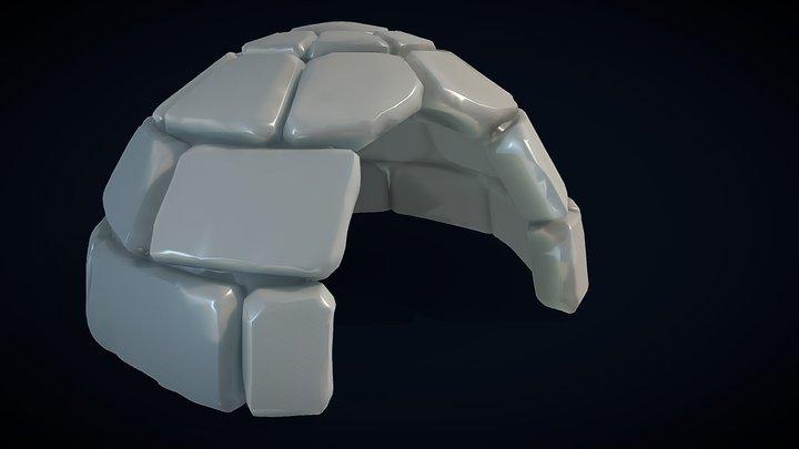Igloo 2 3D Model