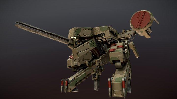 Metal Gear Rex (Soviet Era) 3D Model