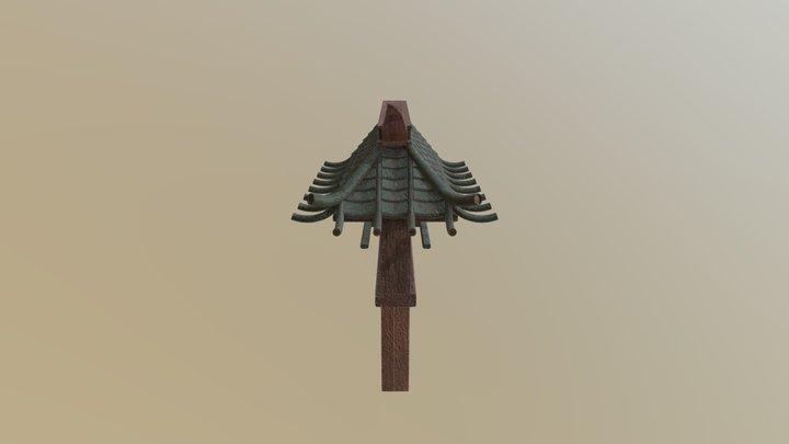 Japanese Wall 3D Model
