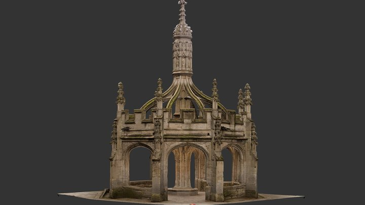 Malmesbury-Cross 3D Model