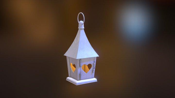 Lantern - Heart 3D Model