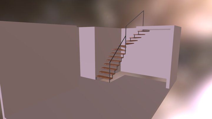 Escada 3D Model