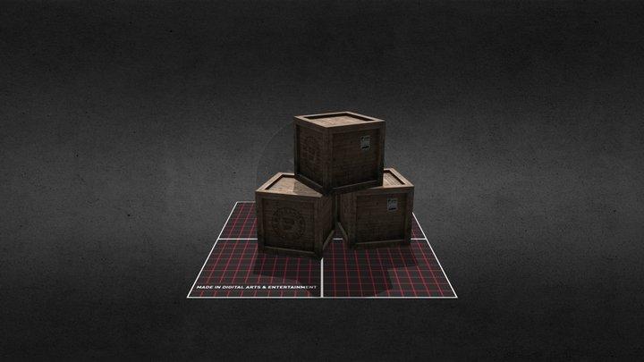 Prop Crates 3D Model