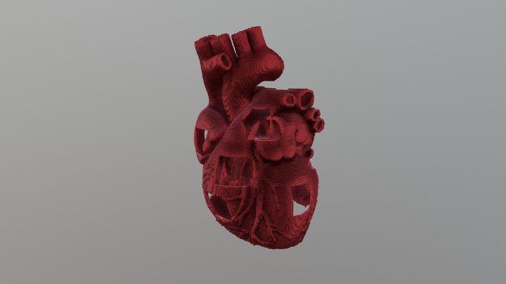 Heart Shaped World 3D Model