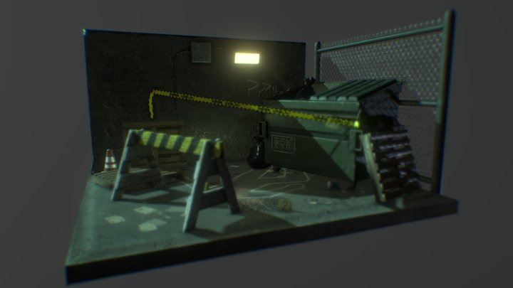 Find the Clues : Crime Scene 3D Model