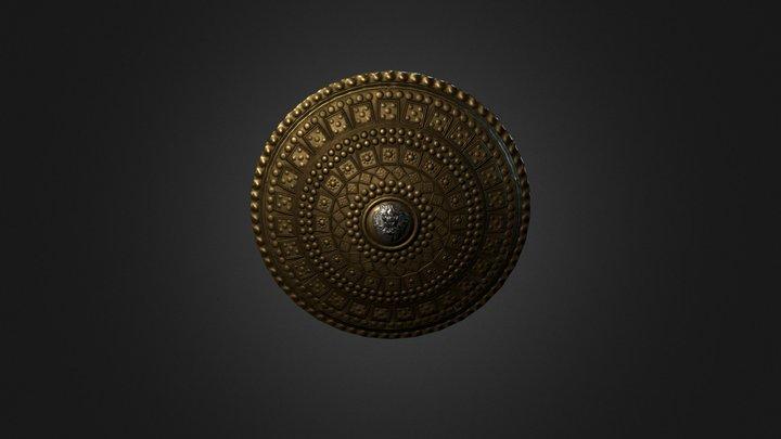 Parma - Roman shield 3D Model