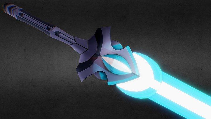 AQW Star Sword [FREE] 3D Model
