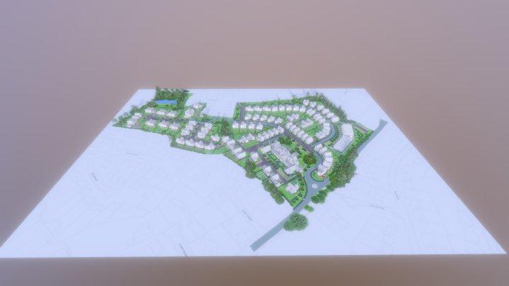 Floreat - Radbrook Village 3D site plan 3D Model
