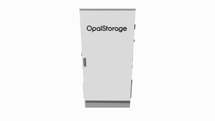 Opal Storage 3D Model