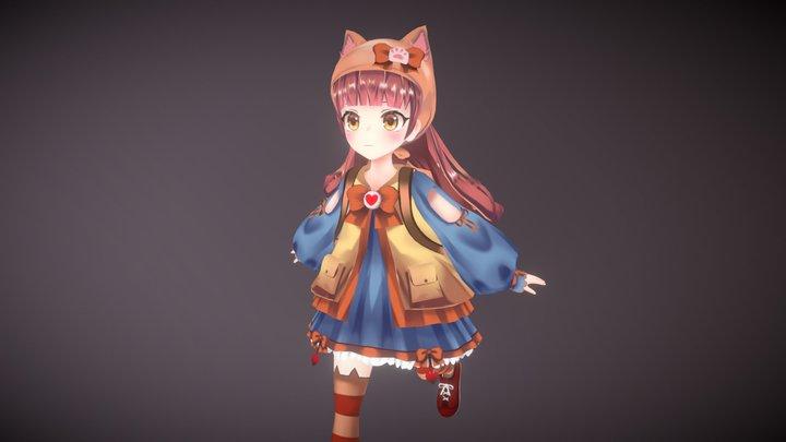 [Original Character] Sei Seira 3D Model