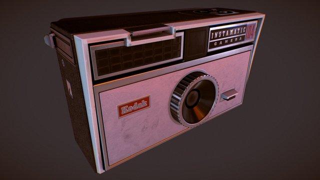 1963 Kodak Instamatic 104 3D Model