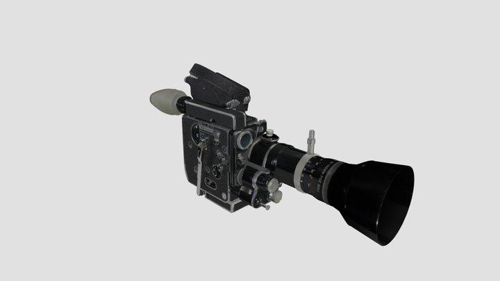 Caméra 16 mm Paillard Bolex H16 REX-5 3D Model