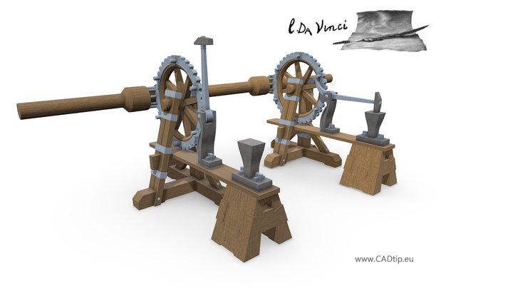 Power hammer 3D Model
