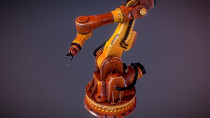 Industrial Machine 2 3D Model