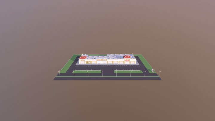 Center by Forest 3D Model