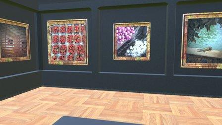 Instamuseum for @Alain_hg 3D Model