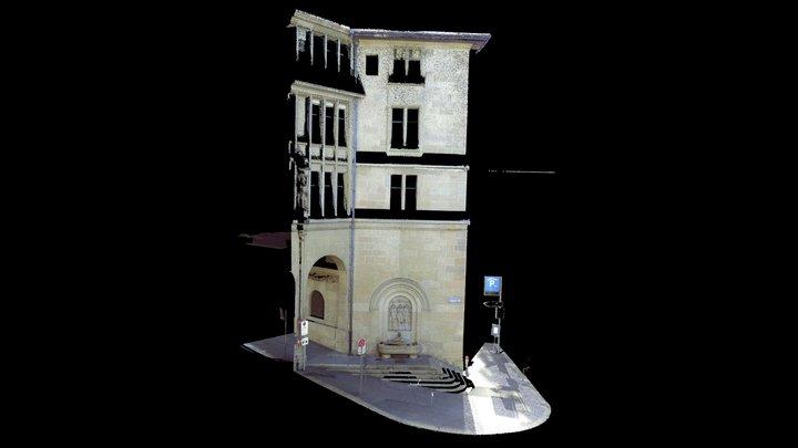 Felix Regula Brunnen | Zurich 3D Model
