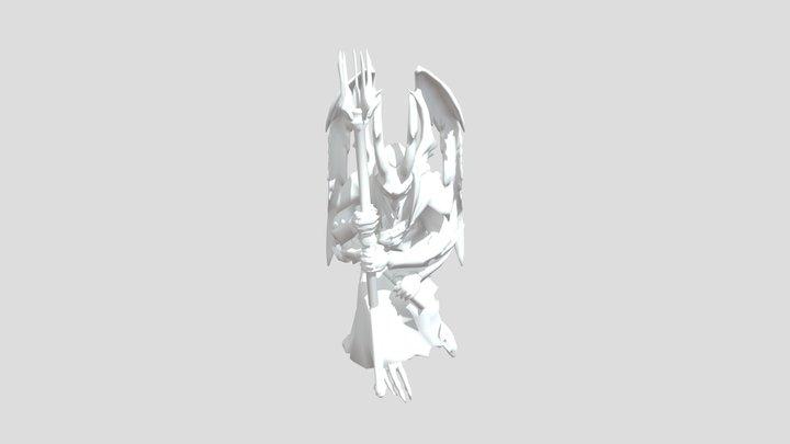 Estata De Culto 3D Model