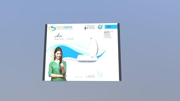 Green Surfer 6w 3D Model