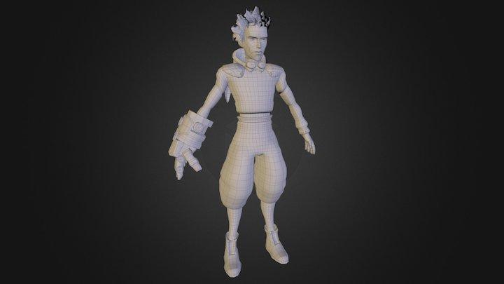 Helical Games: Aidan Orbit Base Model 3D Model