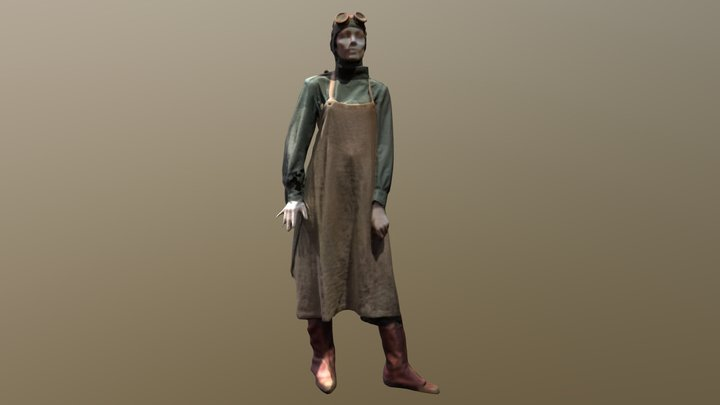 "Dr. Isabel ""Doctor Poison"" Maru (Wonder Woman) 3D Model"