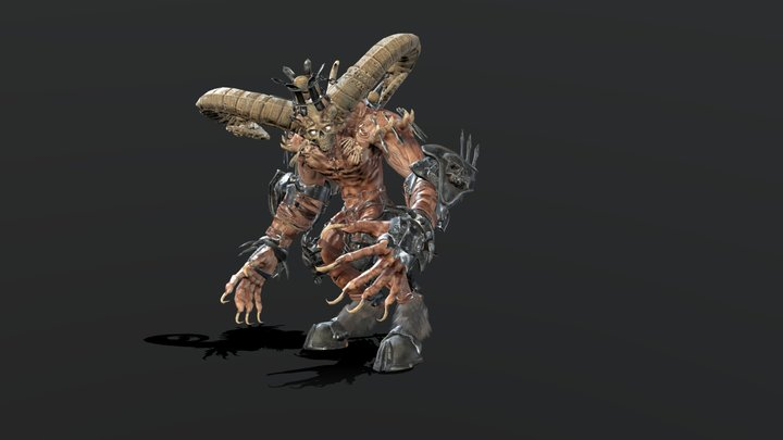 HighDemon 3D Model