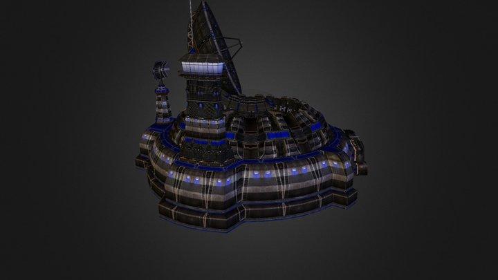 Sat Com 3D Model