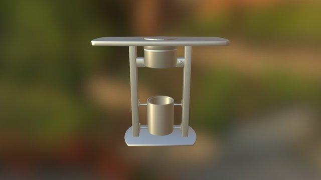 Table Ashtray 3D Model