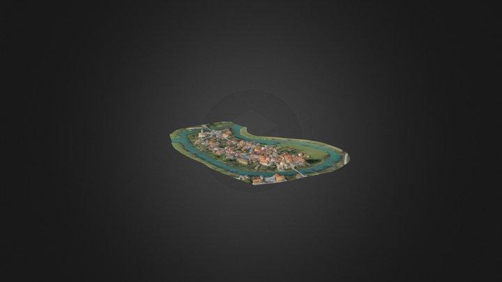 Kostanjevica na Krki 3D Model