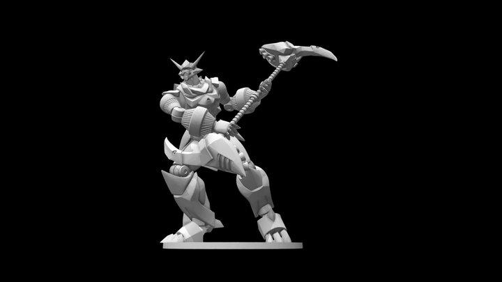 Rocket Scythe ShinŌkami 3D Model