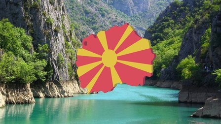 Macedonia 3D Model