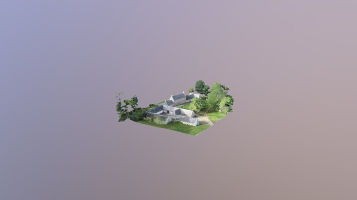 Scottish House Rev 1 3D Model