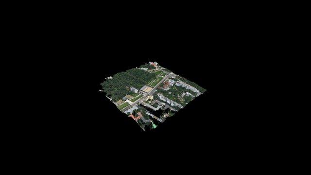 Berlin Mauer Gedaenkstaette Point Cloud 3D Model