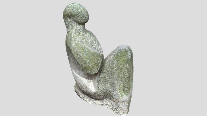"""Statue """"Sediaca"""" by Alexander Trizuljak 3D Model"""
