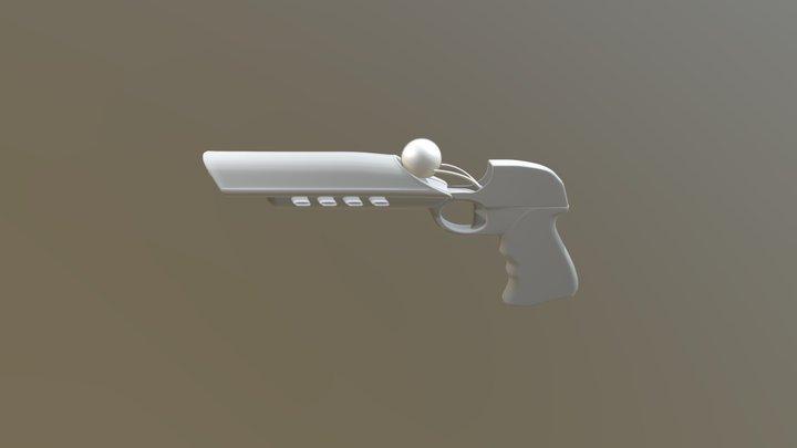Mana Pistol WIP 3D Model