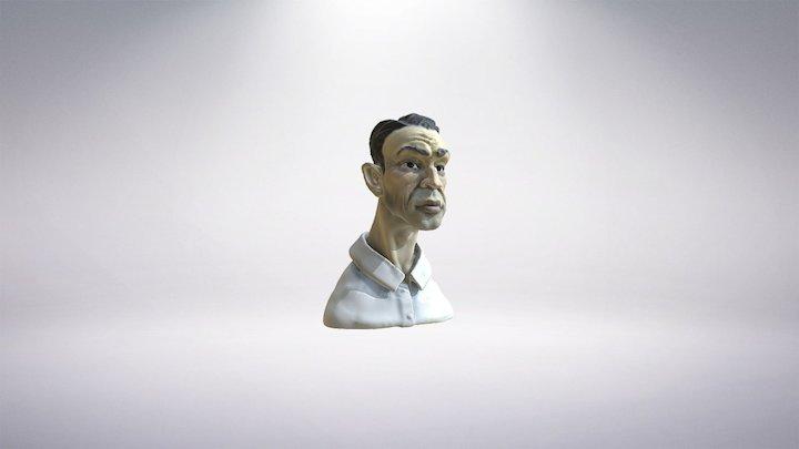 Business Man 3D Model